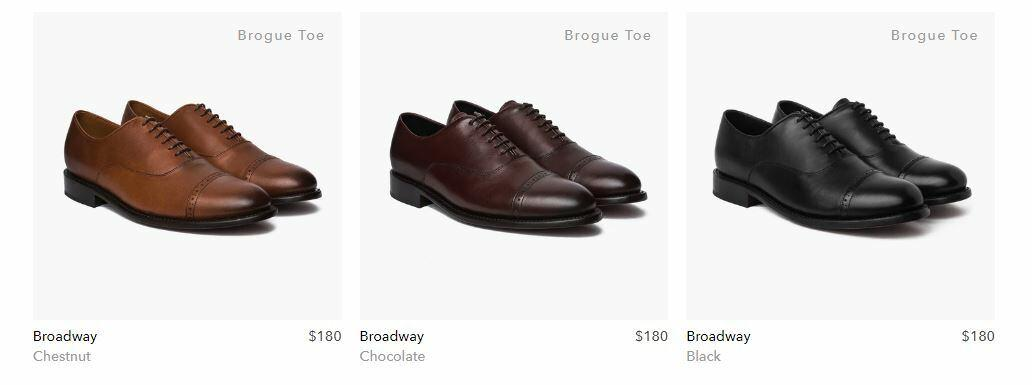 Thursday Brogued Dress Shoes