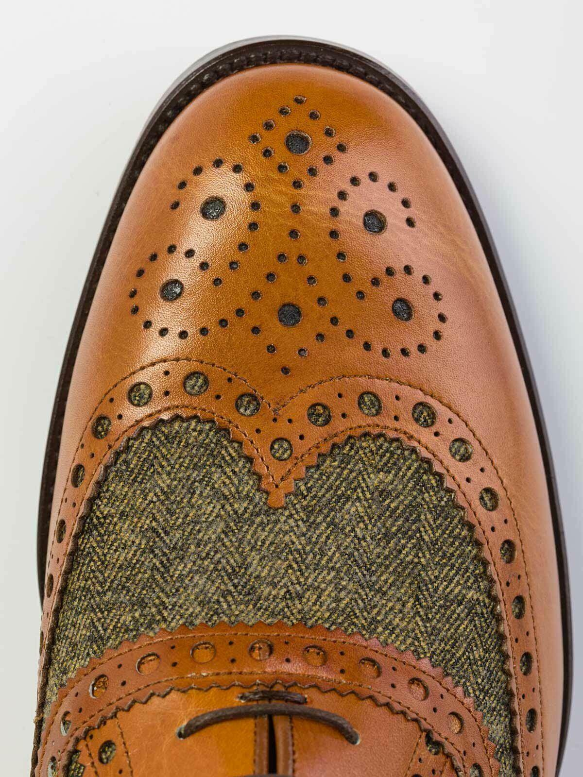 Brogued Dress Shoes