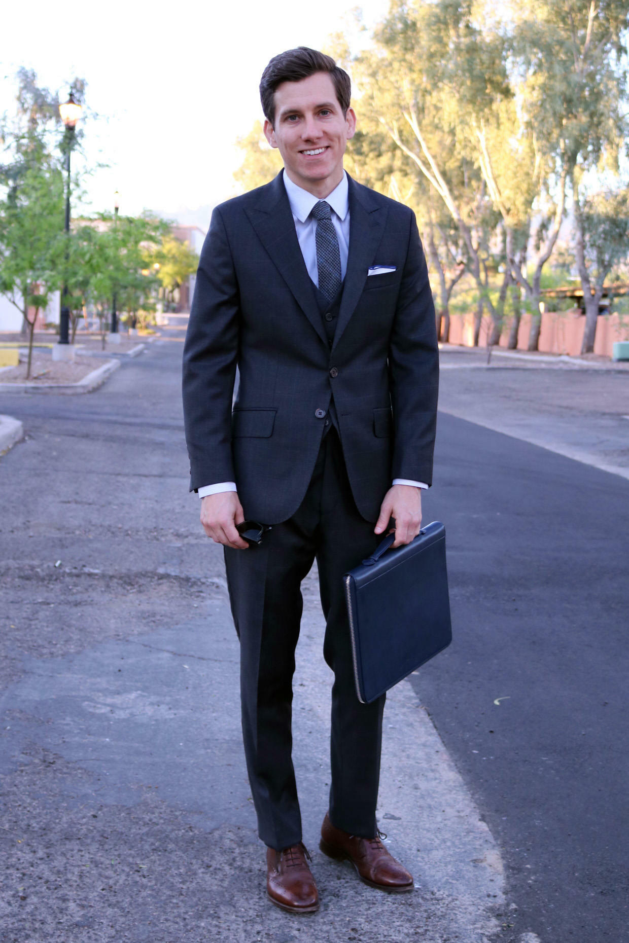 Oliver Wicks three piece charcoal suit_edit