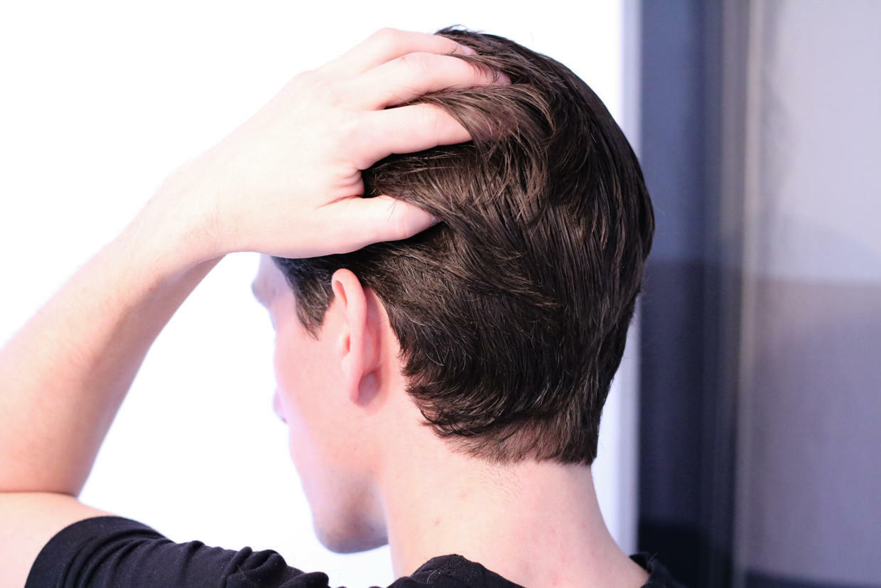 Comb the sides back