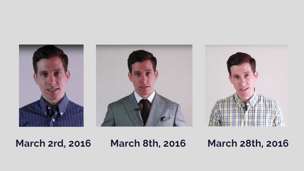 March 2016 acne breakout