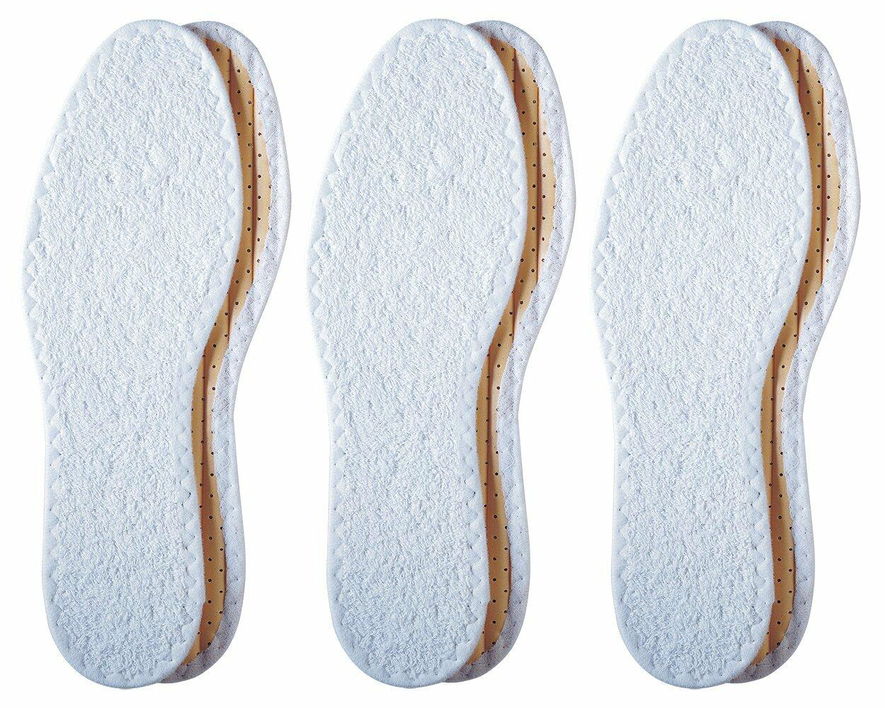 Pedag Washable Summer Pure Cotton Terry Barefoot Insole