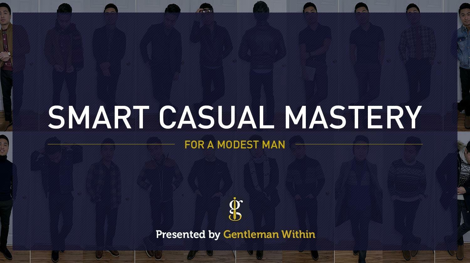 Smart casual mastery for a modest man