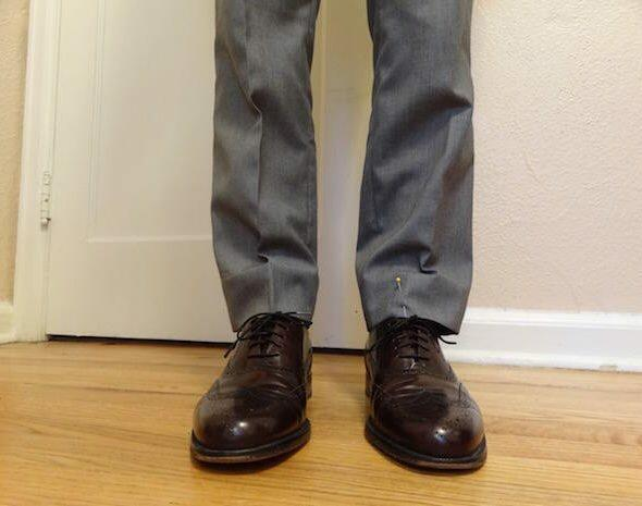 Hem Dress Pants 1