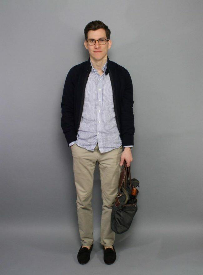 Spring casual with Jay Butler loafers