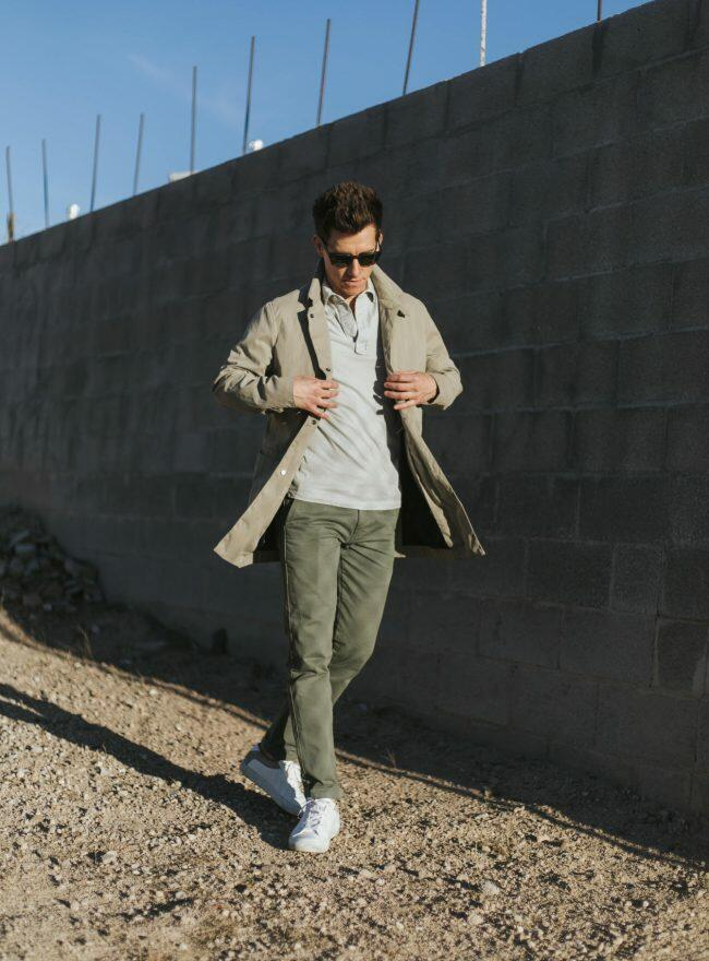 Neutral colors outfit
