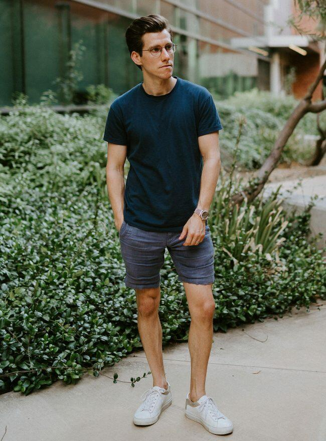 Summer casual blues
