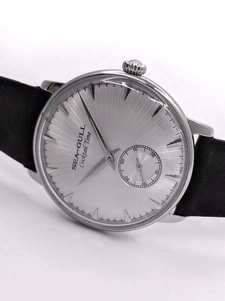 Sea-Gull 38mm Hand Wind Cocktail Time Dress Watch #0N2705