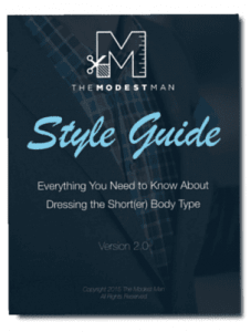 The Modest Man Style Guide
