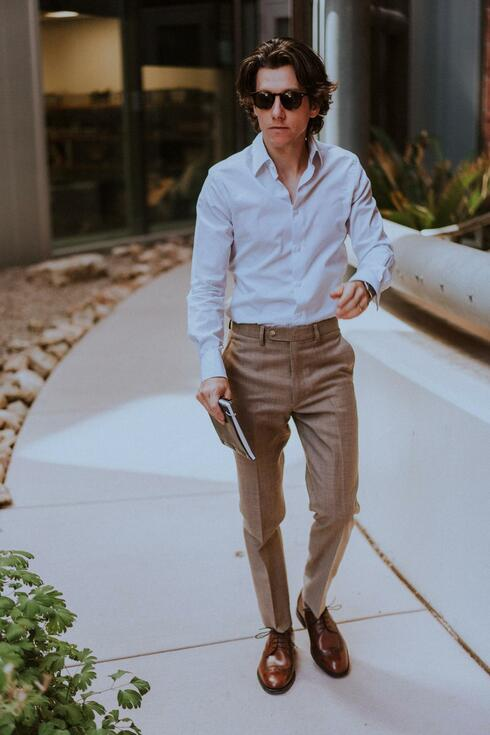 Business casual outfit example