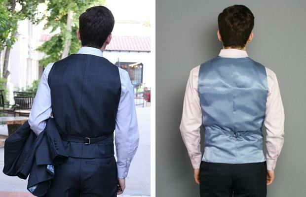 Back of vests compared