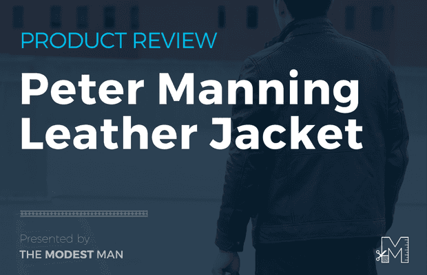 Peter Manning leather jacket review
