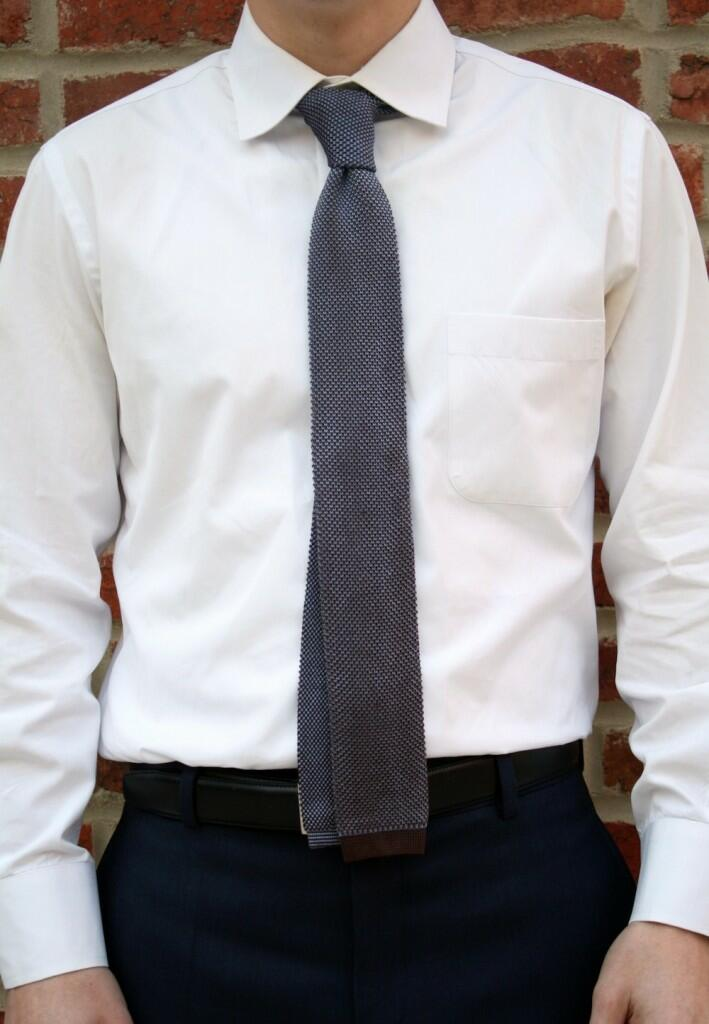 Knit Tie Length