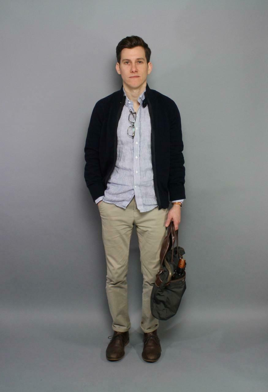 Spring casual with chukka boots